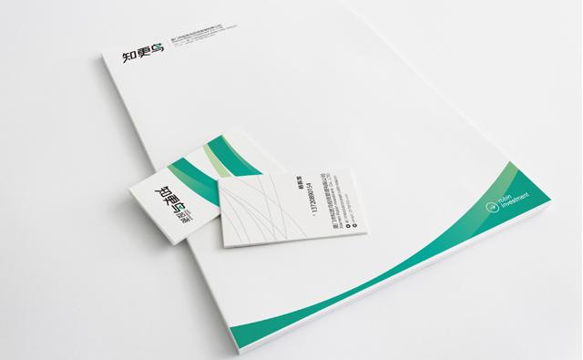 知更鸟投资宣传册设计