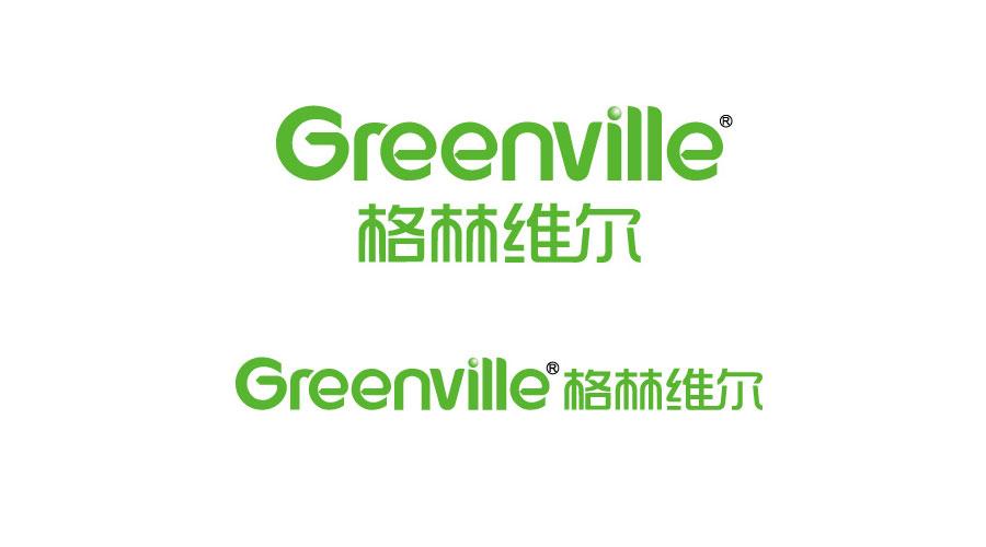 格林维尔logo设计欣赏