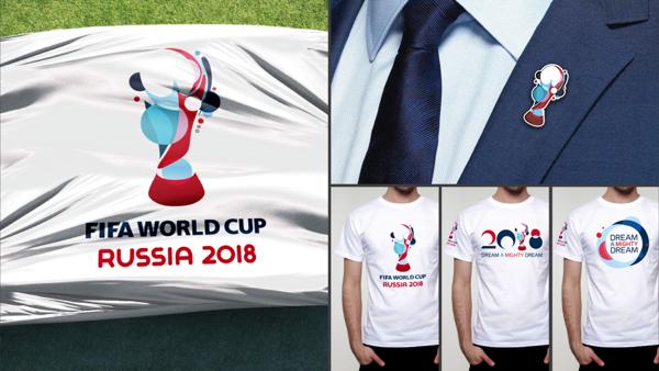 2018年俄罗斯世界杯视觉形象设计
