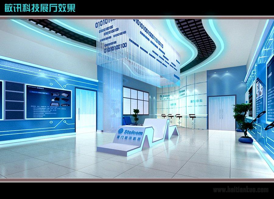 敏讯科技展厅效果图