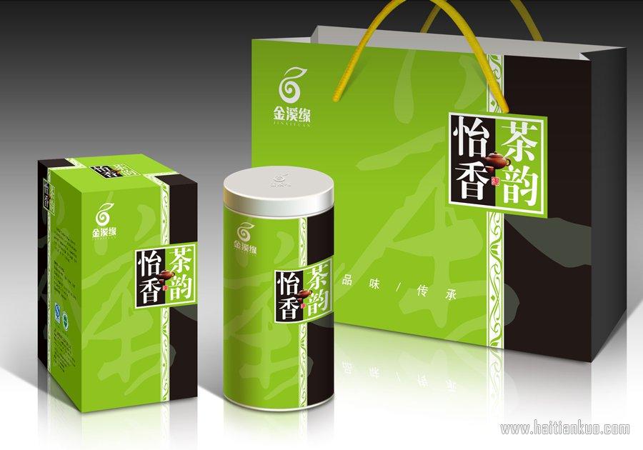 怡香茶韵系列茶叶包装设计